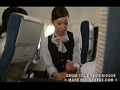 Asian, Handjob, Japanese, Stewardess feet, Drtuber.com