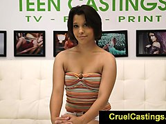 Casting, Fetish, Real european teen in a rough anal casting, Xhamster.com