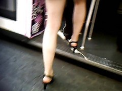 Upskirt, Train, Grobed in bus train, Xhamster.com
