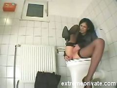 Oil, Toilet, Mistress queening slave toilet, Drtuber.com