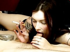 Fetish, Smoking, Tattoo, Alexxya smoking, Xhamster.com