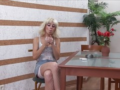 Blonde, Smoking, Wife smoking, Xhamster.com