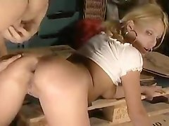 Anal, Blonde, Double Anal, Double anal russian, Xhamster.com
