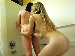Amateur, Lesbian, Cute, Caught sister in the toilet, Xhamster.com
