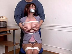 Tied, He is tied to her bed, Xhamster.com
