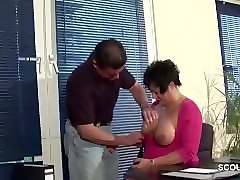 Office, Lingerie, Milf, Secretary fucked in office, Pornhub.com