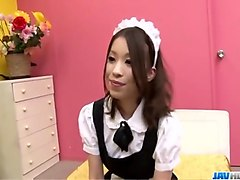Maid, Big titted japanese maid gets fucked, Xhamster.com