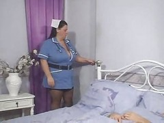 Nurse, Smoking nurse, Xhamster.com
