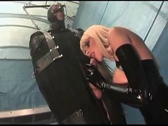 Foursome, Leather, Latex, Smoking latex, Xhamster.com