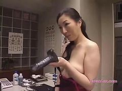 Asian, Lingerie, Strapon, Asian whore, Gotporn.com