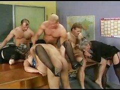 Granny, Group, Stockings, German group stockings, Xhamster.com