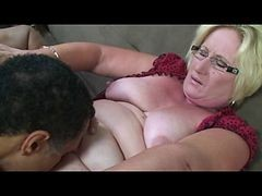 Granny, Blonde, Glasses, Pierced granny pussy, Xhamster.com