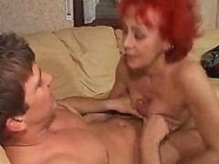 German, Milf, Redhead, German milf gets anal fucked in the kitchen, Xhamster.com