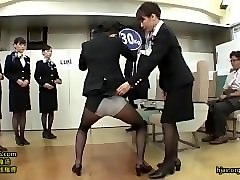 Stewardess, Train, Stewardess giving handjob, Pornhub.com