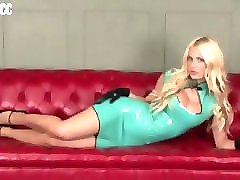Blonde, Latex, Sperm, Pornhub.com