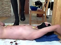 Slave, Heels, High heel cock ball crush trampling, Pornhub.com