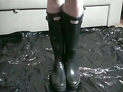 Boots, Black, Rubber, Leather boots gay, Xhamster.com