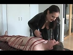 Slave, Mistress dominates him and hurts, Xhamster.com