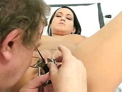 Doctor, Gyno, Tranny cum in girl, Xhamster.com
