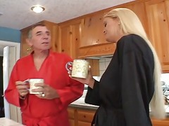 Blonde, Mom, Teen, Wife gives me head in front of mom and dad, Xhamster.com