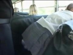Asian, Bus, Blonde, Sexual harassment in bus, Gotporn.com