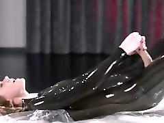 Latex, Strapon, Pantyhose strapon cum, Pornhub.com