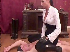 Smoking, Leather, Domina german, Pornhub.com
