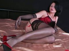 Stockings, Nylon, Interracial stocking, Xhamster.com