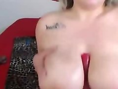 Ass, Natural, Big Tits, Blond girl with big boobs trys on outfits, Xhamster.com