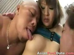 Asian, Whore, Sperm, Asian whore screams with deep anal, Gotporn.com