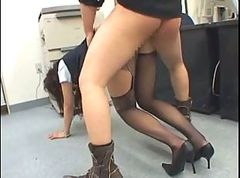 Office, Police, Sexy girl fucked in empty bus, Xhamster.com