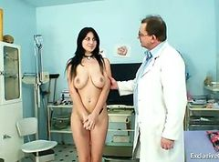 Bus, Gyno, Teacher, Mom and son at gyno exam, Gotporn.com