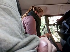 Bus, Caught, Boy caught wanking an fucked, Xhamster.com