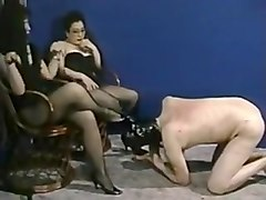 Slave, White slave black mistress asslicking, Txxx.com