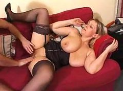 Stockings, Fat, Busty mature granny in stockings, Xhamster.com