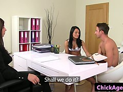Casting, Babe, Audition, Backroom casting couch, Gotporn.com