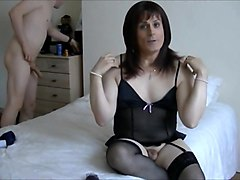 Satin, British solo masturbation, Txxx.com