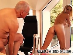 Teen, Old Man, Rough audition, Nuvid.com