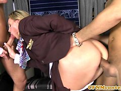 Anal, Club, Stewardess, Stewardess hot, Gotporn.com