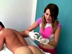 German, Nurse, Teacher, German handjob nurses clinic, Xhamster.com