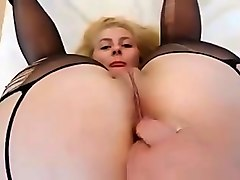 Anal, Blonde, Ass, Big ass anal mom with small saggy tits, Txxx.com