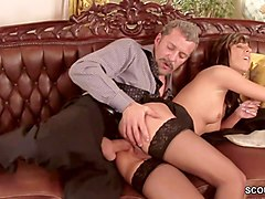Anal, Office, Teen, Girle punish girle in office by strapon, Xhamster.com