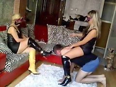 Turkish, Mistress uses her slave as her toilet, Txxx.com