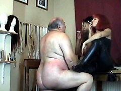 Humiliation, Old Man, Fat, Femdom humiliation, Txxx.com