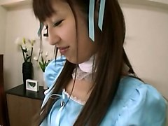 Maid, Japanese maid fuck in the kitchen, Anyporn.com