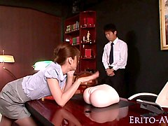 Office, Babe, Squirt, Japanese office orgy, Xhamster.com