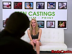 Casting, Teen, Casting teen skinny anal painful, Gotporn.com