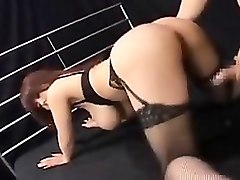 Black, Lingerie, Japanese lesbians sucking breast, Nuvid.com