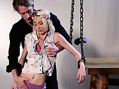 Busty blonde rough fuck punished humiliated, Nuvid.com