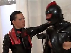 Latex, Strapon, Straponed male orgasm, Xhamster.com